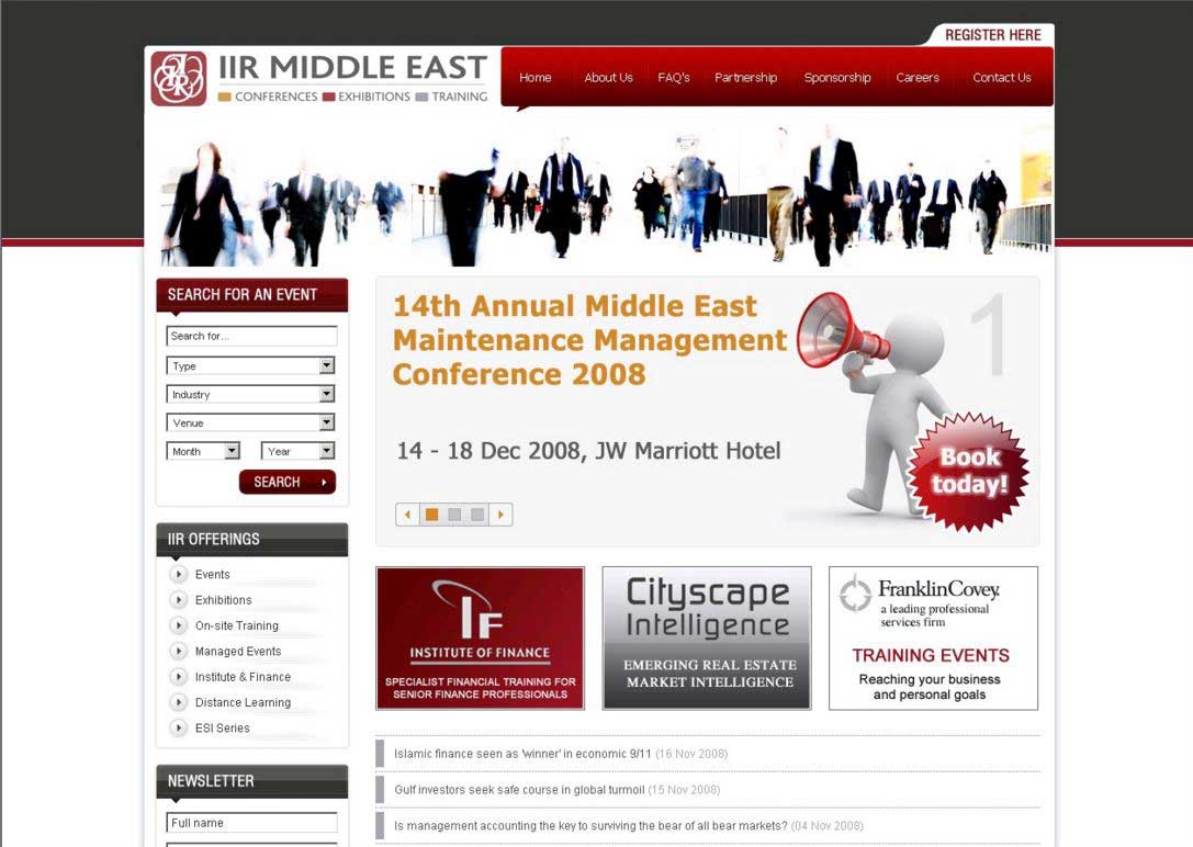 IIR Middle East Home